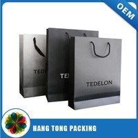 Fancy Carry Package Folder Paper Bag