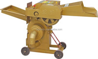Dual functions cow straw feed cutting machine