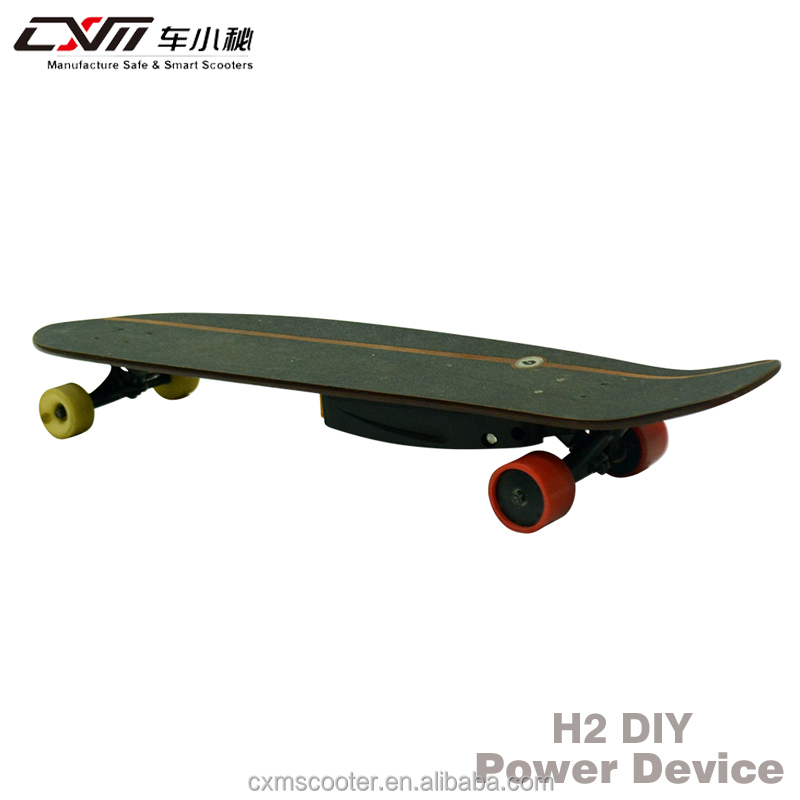 CXM H2 Hot Sale H2 4 Wheel Remote Control DIY Electric Skateboard Four Wheel Electric Scooter Longboard