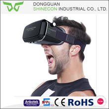 2017 Shinecon Google cardboard VR Virtual Reality Glasses BOX vr 2.0 with Remote Controller