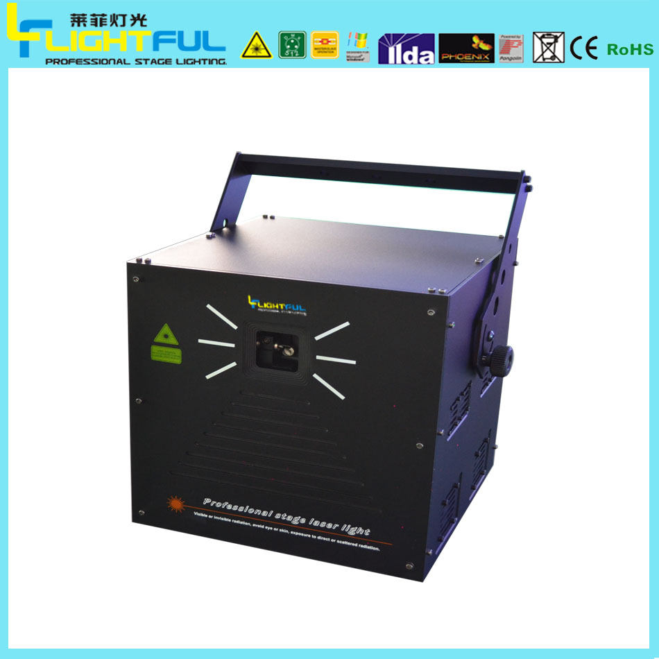DMX512 IP33 5w rgb outdoor laser lights show for sale