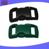 Double side release buckle,plastic release buckle for bags,plastic adjustable buckle