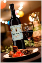 Red Wine, Dry Cabemet Sauvignon red wine 750 ml. Made in Thailand