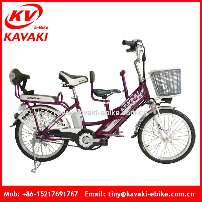 Kavaki Special Design 2 Wheel Cheap Carbon Steel Electric Bicycle Motor Cycle For Adults And Children