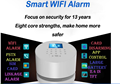 2016 top sales wifi home alarm system W2