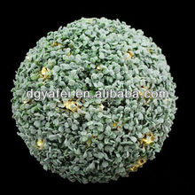Furniture Decoration hanging Plastic Artificial Fake Boxwood Topiary Ball Faux Topiary Grass Ball ---- manufacture factory