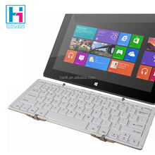 Portable Dual Module Full Size QWERTY USB 3 Folding Bluetooth Keyboard For Tablet PC And Computer