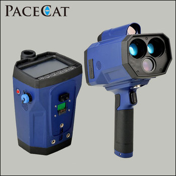 New Design laser speed gun with speed radar detector