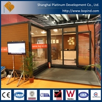 Prefab Modular Foldable 20 ft Office Container
