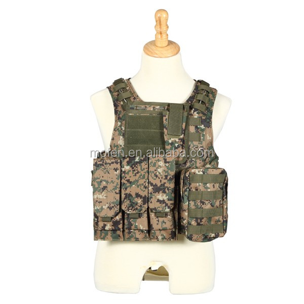 black nylon military army military gear tactical vest