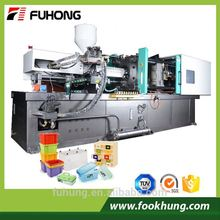 Ningbo Fuhong CE 240ton 2400kn 240t plastic fruit boxes production injection molding moulding making machinery