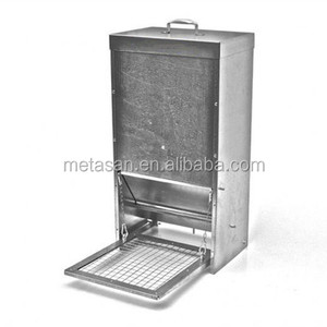 Customized sheet metal galvanized automatic pet chicken treadle feeder