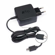 19V/1.75A EU Plug Wall Charger Ac Adapter FOR ASUS X205T X205 Ultrabook adapter