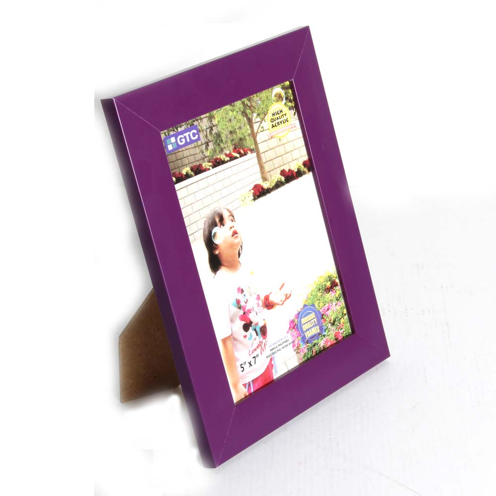 eco friendly bulk plastic moving picture frame for gift wholesale