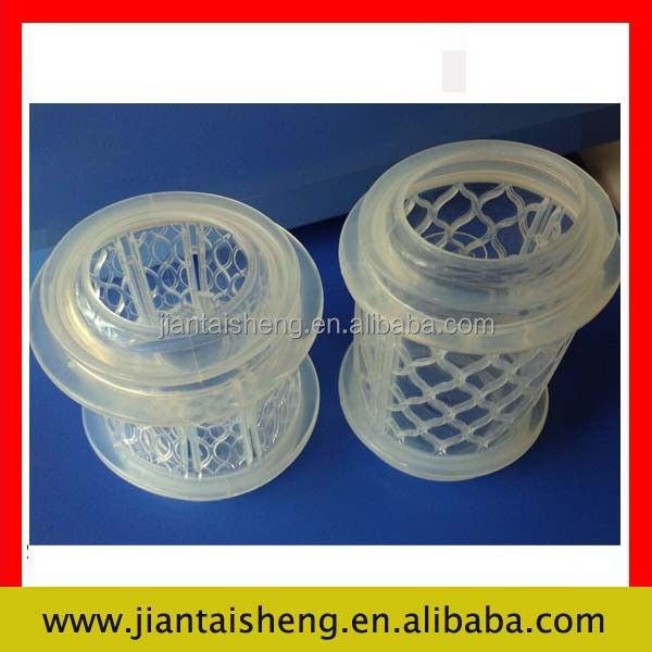 Eco-friendly white silicone rubber cup sleeve