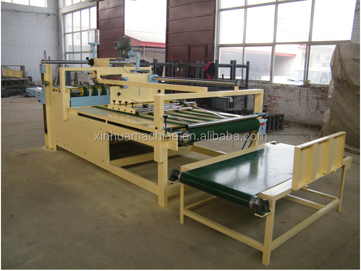semi- auto carton folding gluing machine/cardboard box folder gluer of good quality
