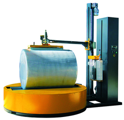 Whole Sale Plastic Stretch Film Automatic Paper Roll Wrapping Machine/reel stretch wrapper
