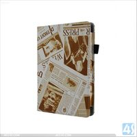 Made in China Leather Book Case for Kindle Fire HD 7 P-AMAZHD7STDPUCASE001