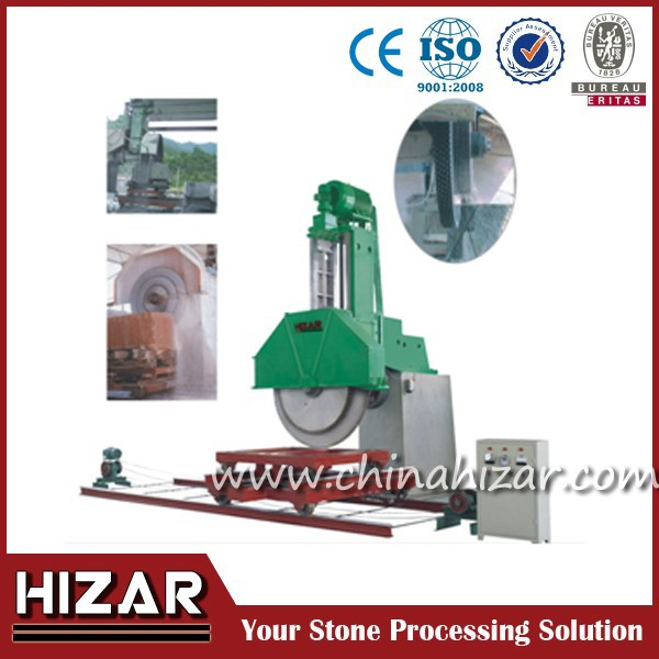 laser large stone cutter block cutter with horizontal blade for marble