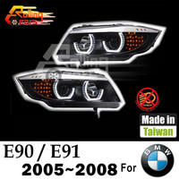 car led headlamp assembly Angel eyes for BMW 316d 316i 318i 320d 320i 323i 325d 325i 328i 330d 330i 335d 335i Made in Taiwan