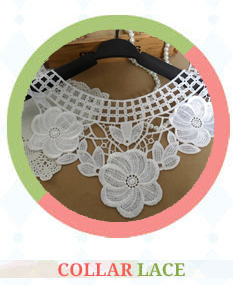 100% Cotton Eyelet Lace Trim for clothing