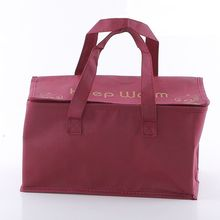 Custom wholesale brown insulated bag bag for food preservation