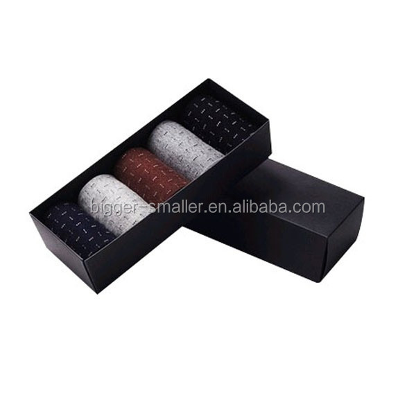 3.7v heated socks carbon fiber fabric socks wholesale corrugated wave gift box