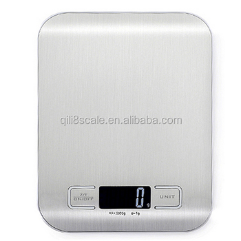 Digital scale type portable waterproof kitchen weighing scale