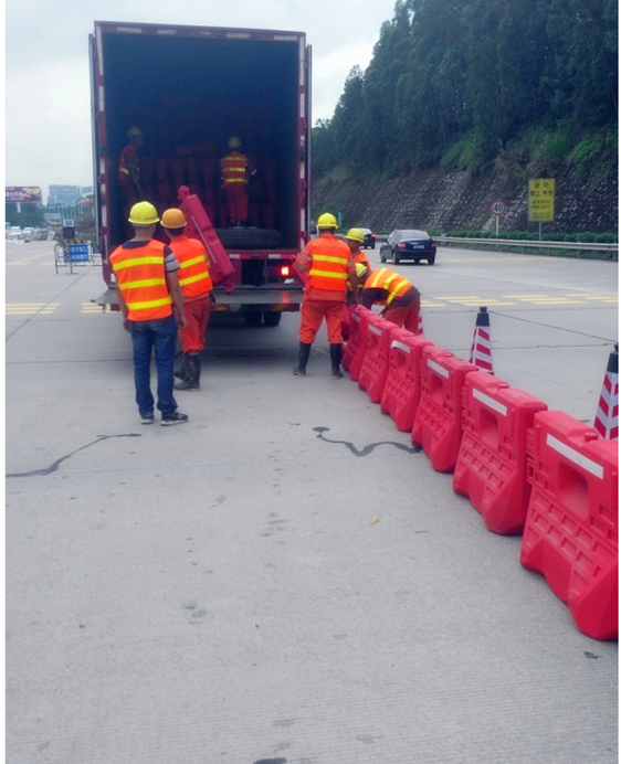 CE safety plastic barrier road safety Plastic barrier Water filled barrier Traffic Road products