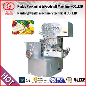 Automatic candy cutting form and fold packing Machine