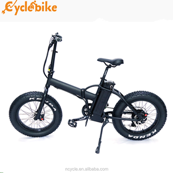 20inch 48v 500w China cheap folding fat tire electric bicycle