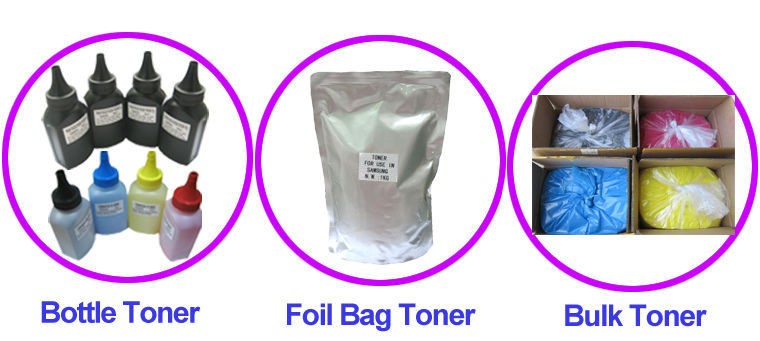 Bulk toner powder for MINOLTA C224 284 364 color toner powder