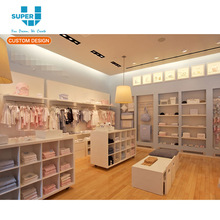Child Clothing Display Cabinets Retailers Shop Decoration Display Cabinet for Displaying Kids Clothing