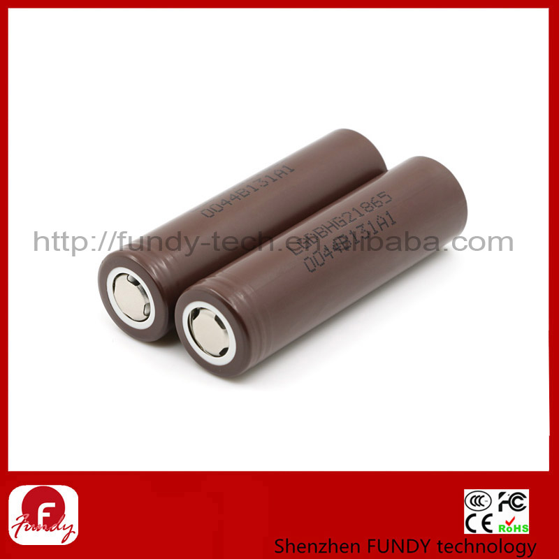 18650 High Drain IMR Battery 20A Lg HG2 3000mah Car Battery