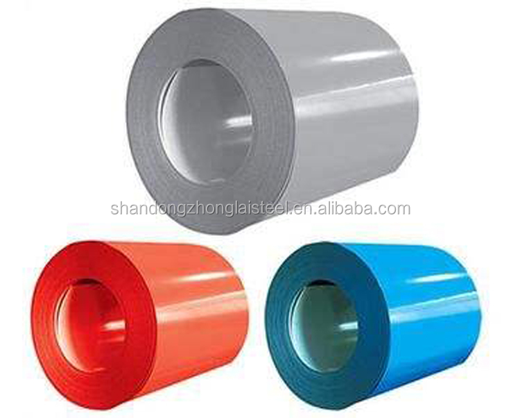 Prime quality wholesale price hot dip prepainted galvanized steel coil in plate PPGL or PPGI Made in China