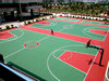 Free Sample Outdoor Colorful Basketball Court Rubber Sports Flooring Price (FL-A-81502)