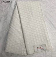 White 100% cotton atiku fabric for men