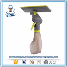 Mr.SIGA Long Durable Telescopic Microfiber Window Washer Double Uses Window Cleaner Window Squeegee