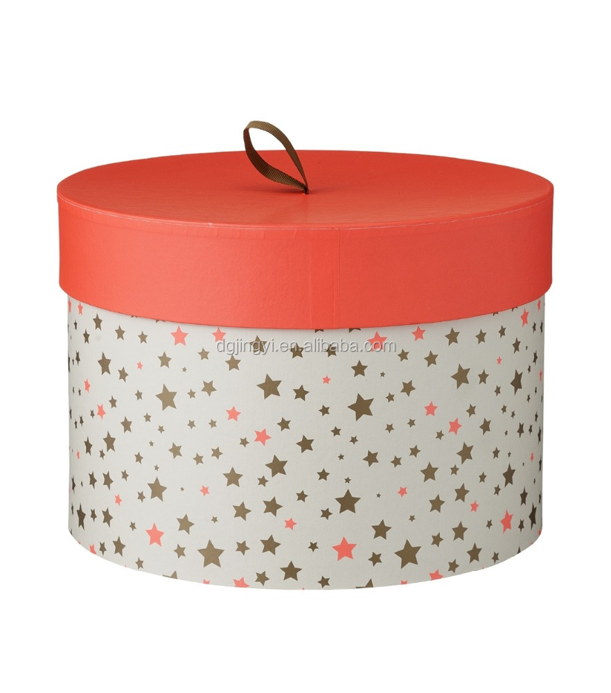 2015 Cheap round hat box wholesale for candle/round candle box
