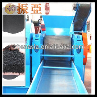 Hot Sale Waste/Used Tire Steel Wire Removing Machine / Tire Recycling Plant