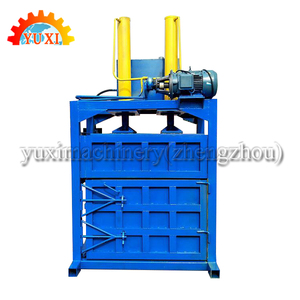 Hydraulic baling press machine/vertical cardboard baler/cotton baling press