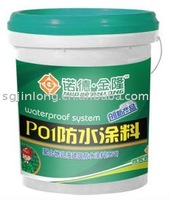 polymer emulsion architectural waterproof coating