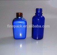 custom made glass perfume bottles