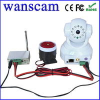 New Door Alarm IP Camera Support P2P Centrel Control Alarm System Kits Wifi IP Cam System
