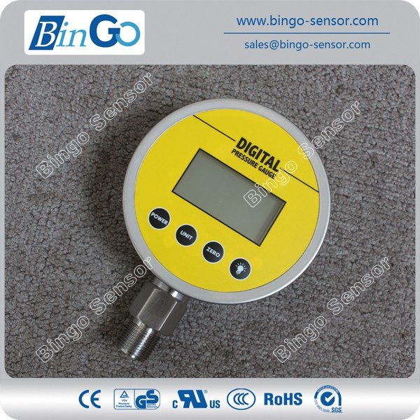 "Digital manometer water1/4"" digital LCD pressure gauge"