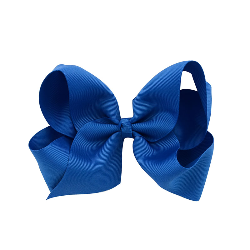 Big Bow Girls Solid Ribbon Bows With Clip Boutique Hair Clip Hairpin Baby Hair Accessories