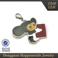Hot 2015 Sgs Stainless Steel Football Charm