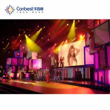 Die-casting cabinet 500*500 full color smd P3.9 P2.6 rental indoor stage led display