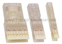 transparent 110 type 2 pair patch plug