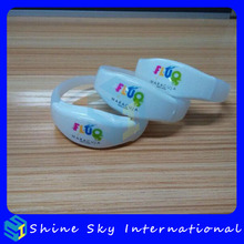 Shine Sky International wristband for gym 25cm length fabric wristbands for events new year/give away gifts